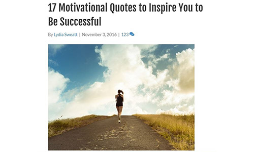 Inspirational - Listicle Formats