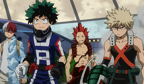 My Hero Academia - Burned Out
