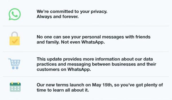 WhatsApp Privacy - Social Media Privacy