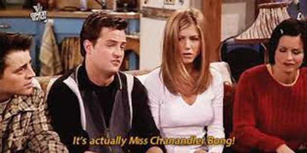 Miss Chanandler Bong - Friends Reunion