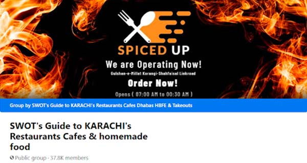 SWOT's Guide to KARACHI's Restaurants Cafés & Homemade Food