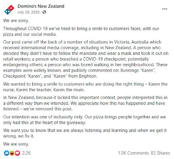 Dominos and Karens - Global Marketing Fails
