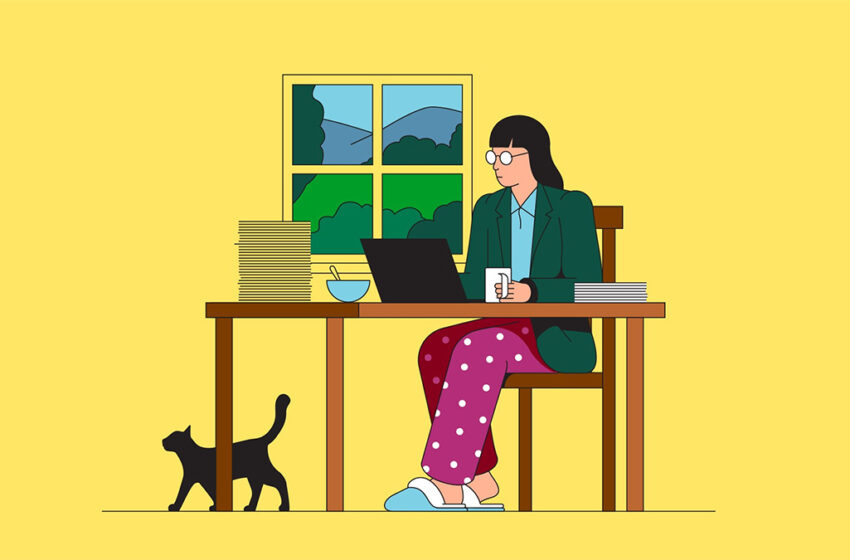 Why working from home can be a trap that you gradually need to free yourself from