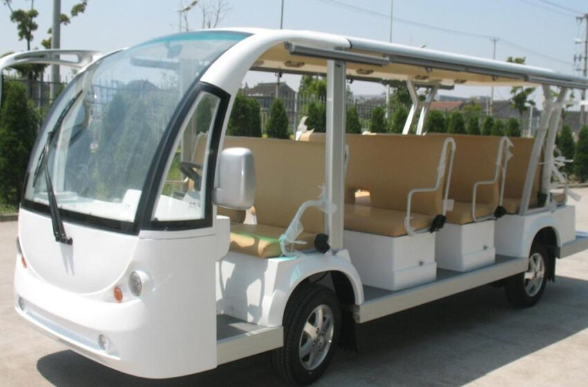 Karachi University Introduced On-campus Electric Shuttles