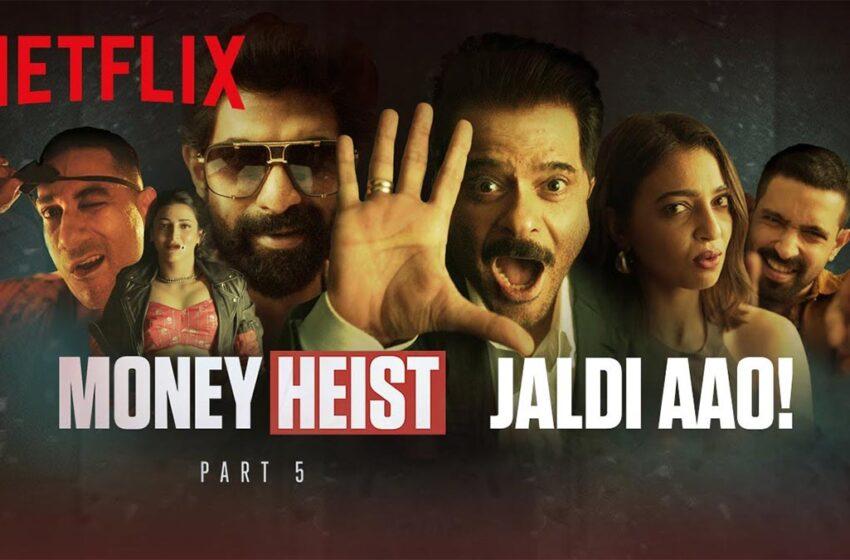 Money Heist season five hype – Creative or Cringey